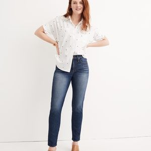 NWT Madewell Slim Straight Jeans in  William Wash